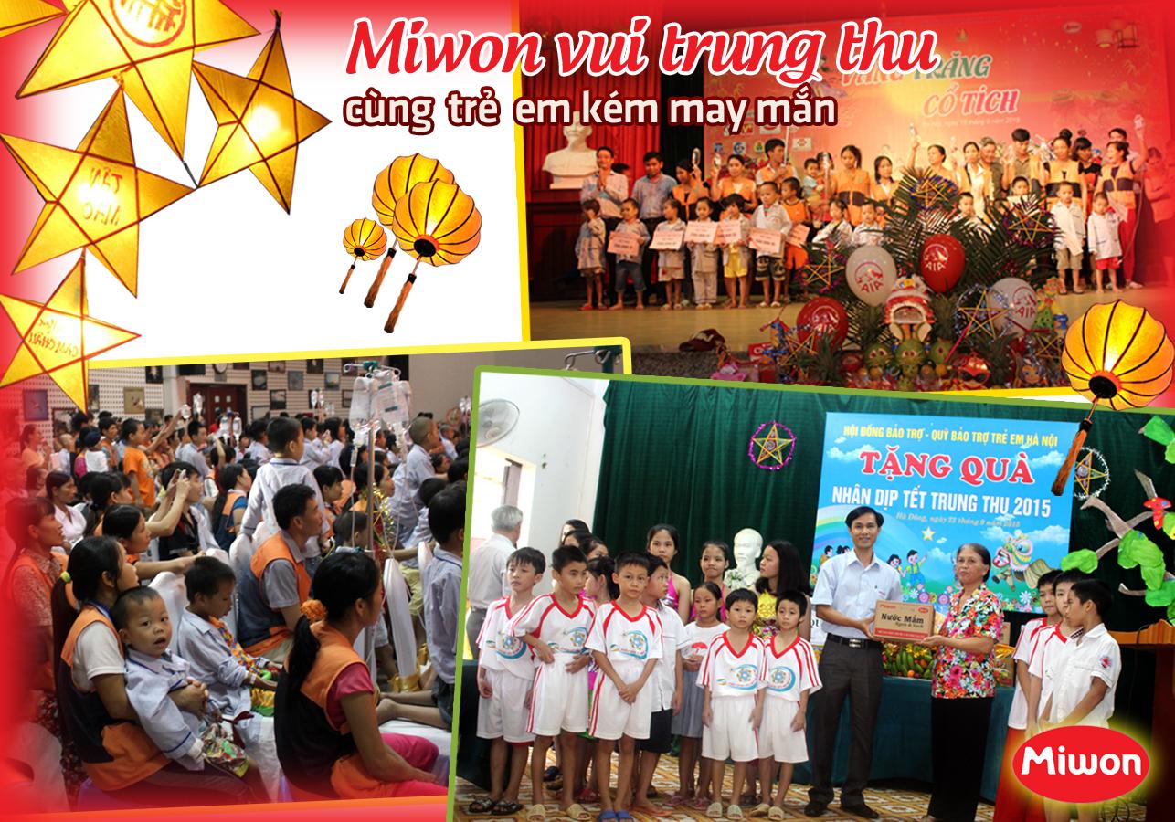 미원베트남과 형편 어려운 아이들과 함께 즐거운 추석 보내기