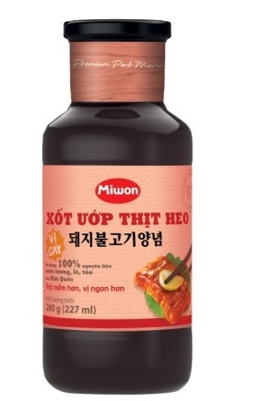 Pork Bulgogi Marinade (Spicy)
